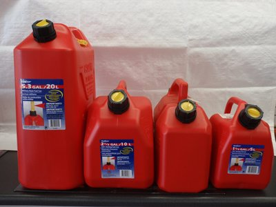 Scepter Plastic Fuel Cans